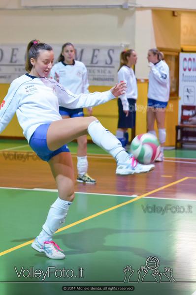 Fortitudo Città di Rieti - Edil Rossi Volley Bastia | 12ª giornata Campionato Italiano di Pallavolo Femminile, Serie B1 girone C [2013/14] (id: 2014.01.11.MBY_0711)