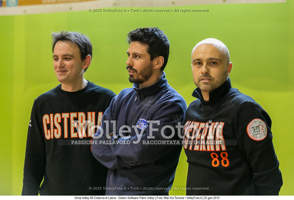 Staff, OMIA Volley 88 Cisterna