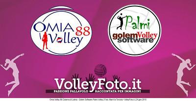 Omia Volley 88 Cisterna di Latina - Golem Software Palmi Volley