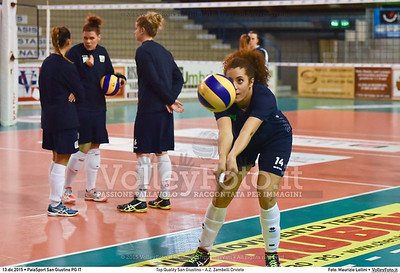 Top Quality San Giustino - A.Z. Zambelli Orvieto 9ª giornata Campionato Serie B1 Femminile 2015-16, girone C PalaSport San Giustino PG, 13.12.2015 FOTO: Maurizio Lollini © 2015 Volleyfoto.it, all rights reserved [id:20151213.DSC_0075]