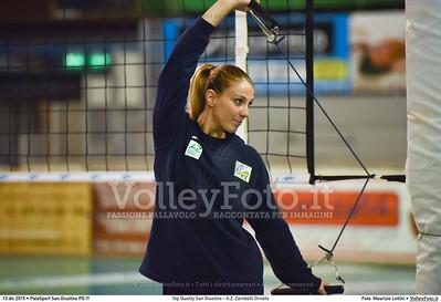 Top Quality San Giustino - A.Z. Zambelli Orvieto 9ª giornata Campionato Serie B1 Femminile 2015-16, girone C PalaSport San Giustino PG, 13.12.2015 FOTO: Maurizio Lollini © 2015 Volleyfoto.it, all rights reserved [id:20151213.DSC_0077]
