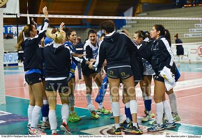 Top Quality San Giustino - A.Z. Zambelli Orvieto 9ª giornata Campionato Serie B1 Femminile 2015-16, girone C PalaSport San Giustino PG, 13.12.2015 FOTO: Maurizio Lollini © 2015 Volleyfoto.it, all rights reserved [id:20151213.DSC_0100]