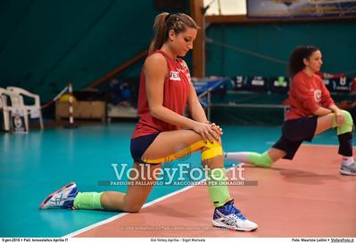 Giò Volley Aprilia - Sigel Marsala 11ª giornata Campionato Serie B1 Femminile 2015-16, girone D Pallone Tensostatico Aprilia LT, 09.01.2016 FOTO: Maurizio Lollini © 2016 Volleyfoto.it, all rights reserved [id:20160109.DSC_8217]