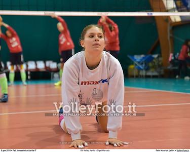 Giò Volley Aprilia - Sigel Marsala 11ª giornata Campionato Serie B1 Femminile 2015-16, girone D Pallone Tensostatico Aprilia LT, 09.01.2016 FOTO: Maurizio Lollini © 2016 Volleyfoto.it, all rights reserved [id:20160109.DSC_8199]