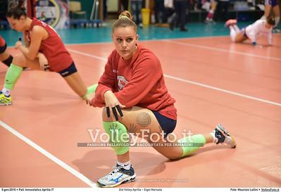 Giò Volley Aprilia - Sigel Marsala 11ª giornata Campionato Serie B1 Femminile 2015-16, girone D Pallone Tensostatico Aprilia LT, 09.01.2016 FOTO: Maurizio Lollini © 2016 Volleyfoto.it, all rights reserved [id:20160109.DSC_8215]