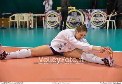 Giò Volley Aprilia - Sigel Marsala 11ª giornata Campionato Serie B1 Femminile 2015-16, girone D Pallone Tensostatico Aprilia LT, 09.01.2016 FOTO: Maurizio Lollini © 2016 Volleyfoto.it, all rights reserved [id:20160109.DSC_8196]