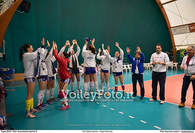 Giò Volley Aprilia - Sigel Marsala 11ª giornata Campionato Serie B1 Femminile 2015-16, girone D Pallone Tensostatico Aprilia LT, 09.01.2016 FOTO: Maurizio Lollini © 2016 Volleyfoto.it, all rights reserved [id:20160109.DSC_8169]