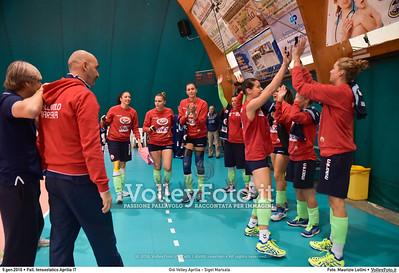 Giò Volley Aprilia - Sigel Marsala 11ª giornata Campionato Serie B1 Femminile 2015-16, girone D Pallone Tensostatico Aprilia LT, 09.01.2016 FOTO: Maurizio Lollini © 2016 Volleyfoto.it, all rights reserved [id:20160109.DSC_8177]
