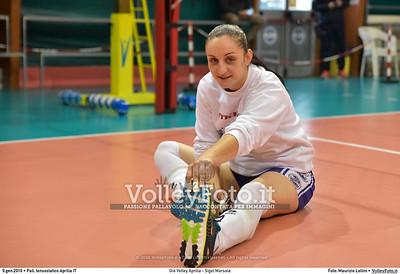 Giò Volley Aprilia - Sigel Marsala 11ª giornata Campionato Serie B1 Femminile 2015-16, girone D Pallone Tensostatico Aprilia LT, 09.01.2016 FOTO: Maurizio Lollini © 2016 Volleyfoto.it, all rights reserved [id:20160109.DSC_8193]