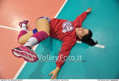 Giò Volley Aprilia - Sigel Marsala 11ª giornata Campionato Serie B1 Femminile 2015-16, girone D Pallone Tensostatico Aprilia LT, 09.01.2016 FOTO: Maurizio Lollini © 2016 Volleyfoto.it, all rights reserved [id:20160109.DSC_8200]