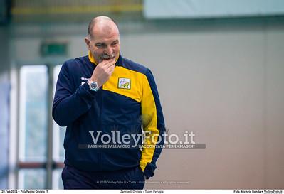 Zambelli Orvieto - Tuum Perugia 16ª giornata Campionato Serie B1 Femminile 2015-16, girone C PalaPapini Orvieto TR, 20.02.2016 FOTO: Michele Benda © 2016 Volleyfoto.it, all rights reserved [id:20160220.MB2_0156]