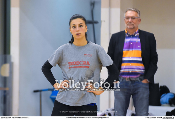 «Conad Sicomputer Ravenna - Gramsci Pool Volley Reggio Emilia»