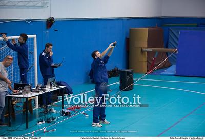 «Pallavolo Alfieri Cagliari - BreBanca San Bernardo Cuneo»