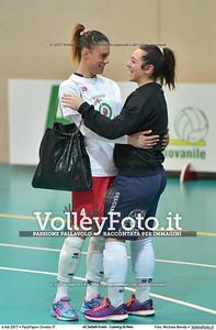 Giulia SERAFINI [14] e Martina SABBATINI [4]