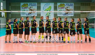 Foto di gruppo Zambelli Orvieto 2016-17