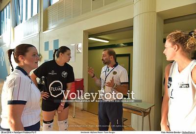 durante Amichevole «MyCicero Pesaro - Tuum Perugia» presso PalaSport Piobbico PU IT, 28 settembre 2016 - Foto di Michele Benda [MB3_0921]