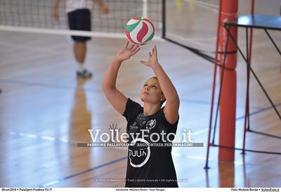 durante Amichevole «MyCicero Pesaro - Tuum Perugia» presso PalaSport Piobbico PU IT, 28 settembre 2016 - Foto di Michele Benda [MB3_0885]