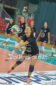 Carolina SANTIBACCI durante allenamento TUUM Perugia presso PalaEvangelisti Perugia IT, 05 settembre 2016 - Foto di Michele Benda [MB3_5554]