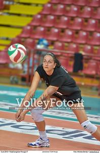 Veronica MINATI durante allenamento TUUM Perugia presso PalaEvangelisti Perugia IT, 05 settembre 2016 - Foto di Michele Benda [MB3_5615]