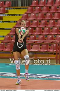 Martina TIBERI durante allenamento TUUM Perugia presso PalaEvangelisti Perugia IT, 05 settembre 2016 - Foto di Michele Benda [MB3_5545]