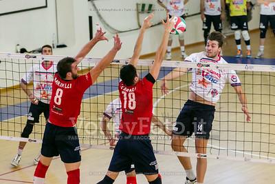 Antonio SMIRIGLIA, attacco, Michele MARINELLI, Mario FERRARO, muro