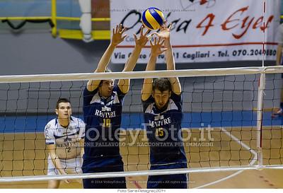 Muro, Volley Segrate