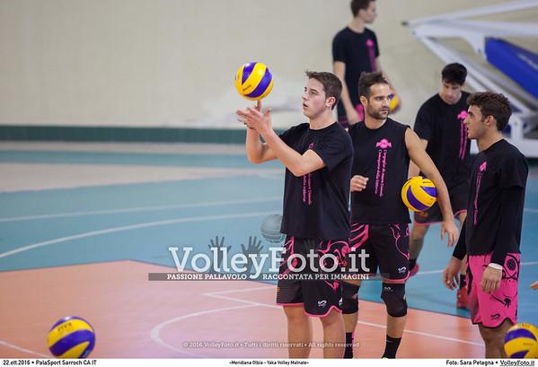 «Meridiana Olbia - Yaka Volley Malnate»