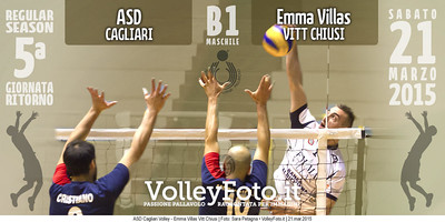 ASD Cagliari Volley - Emma Villas Vitt Chiusi