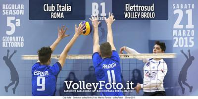 Club Italia - Elettrosud Volley Brolo