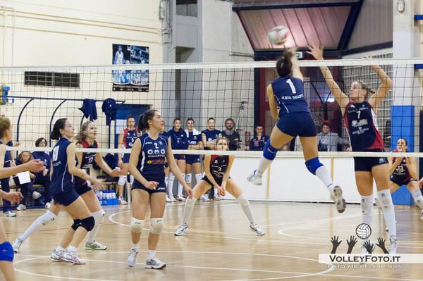 OMG Galletti Pontevalleceppi PG vs Monteschiavo Jesi AN  11ª Giornata Campionata Italiano di Volley Femminile, Serie B2 Girone F 2012/13