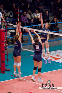 Edilizia Passeri BASTIA - OMG Galletti Pontevalleceppi PG / Campionato italiano di Volley Femminile - serie B2 girone F - 16a giornata [11.02.2012] risultato 3-0 (25-21, 25-13, 25-20)