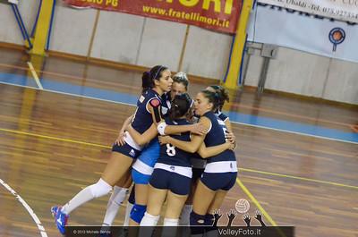 New Font F.lli Mori GUBBIO - GS Dannunziana PESCARA | 5ª giornata, Campionato Italiano di Volley Femminile, Serie B2 girone F [2013/14] (id: 2013.11.16._MBY0704)