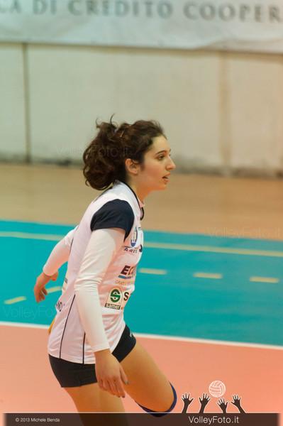 Crediumbria Ternana - Ecomet Marsciano | 9ª giornata, Campionato italiano di Pallavolo Femminile, Serie B2 girone E [2013/14] (id: 2013.12.14._MBD4527)
