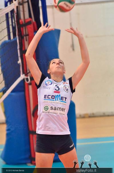 Flavia Volpi, palleggio