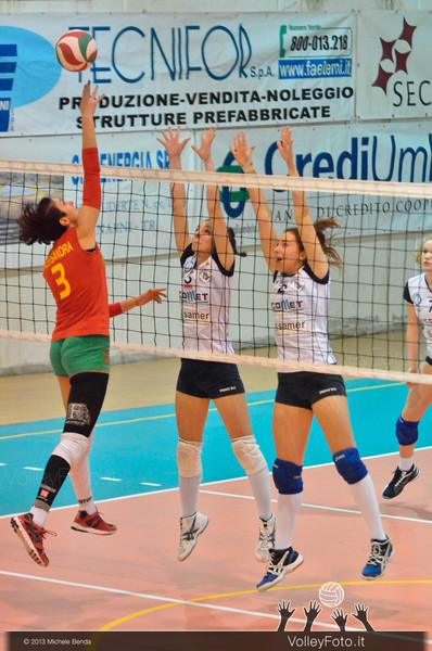 Alessandra Favoriti, attacco, Flavia Volpi, Veronica Santi, muro