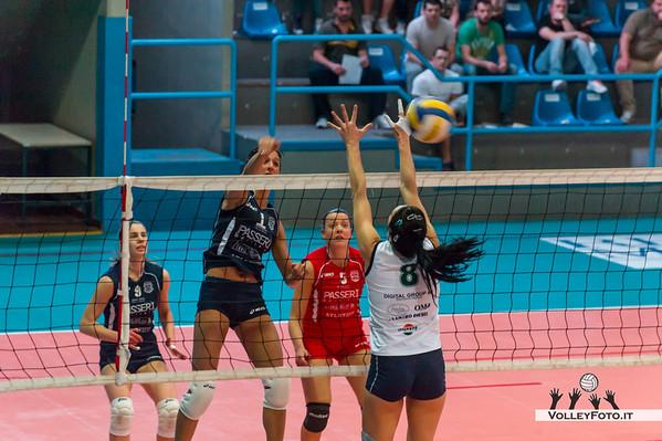 Edilizia Passeri Bastia - Onsen Pagliare - 25a giornata regular season campionato italiano Volley B2F/F