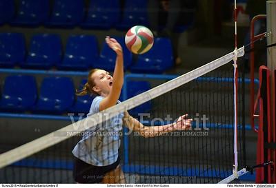 School Volley Bastia - New Font F.lli Mori Gubbio