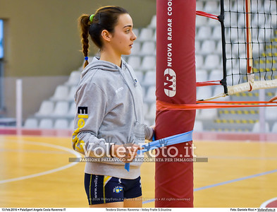 Teodora Glomex Ravenna - Volley Fratte S.Giustina 15ª giornata Campionato Serie B2 Femminile 2015-16, girone D Palasport Angelo Costa Ravenna, 13.02.2016 FOTO: Daniele Ricci © 2016 Volleyfoto.it, all rights reserved [id:20160213.DSC_9035]