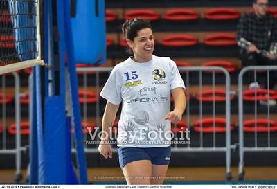Liverani Castellari Lugo -Teodora Glomex Ravenna 16ª giornata Campionato Serie B2 Femminile 2015-16, girone D PalaBanca di Romagna Lugo RA, 20.02.2016 FOTO: Daniele Ricci © 2016 Volleyfoto.it, all rights reserved [id:20160220.B2F_TEO-8]