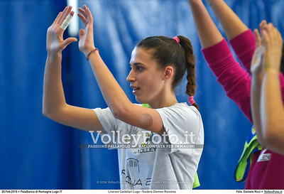 Liverani Castellari Lugo -Teodora Glomex Ravenna 16ª giornata Campionato Serie B2 Femminile 2015-16, girone D PalaBanca di Romagna Lugo RA, 20.02.2016 FOTO: Daniele Ricci © 2016 Volleyfoto.it, all rights reserved [id:20160220.B2F_TEO-6]
