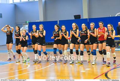 Liverani Castellari Lugo -Teodora Glomex Ravenna 16ª giornata Campionato Serie B2 Femminile 2015-16, girone D PalaBanca di Romagna Lugo RA, 20.02.2016 FOTO: Daniele Ricci © 2016 Volleyfoto.it, all rights reserved [id:20160220.B2F_TEO-22]