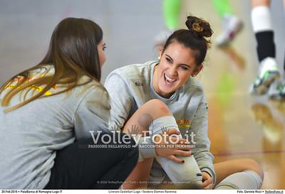 Liverani Castellari Lugo -Teodora Glomex Ravenna 16ª giornata Campionato Serie B2 Femminile 2015-16, girone D PalaBanca di Romagna Lugo RA, 20.02.2016 FOTO: Daniele Ricci © 2016 Volleyfoto.it, all rights reserved [id:20160220.B2F_TEO-5]