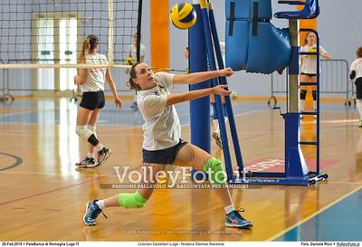 Liverani Castellari Lugo -Teodora Glomex Ravenna 16ª giornata Campionato Serie B2 Femminile 2015-16, girone D PalaBanca di Romagna Lugo RA, 20.02.2016 FOTO: Daniele Ricci © 2016 Volleyfoto.it, all rights reserved [id:20160220.B2F_TEO-14]