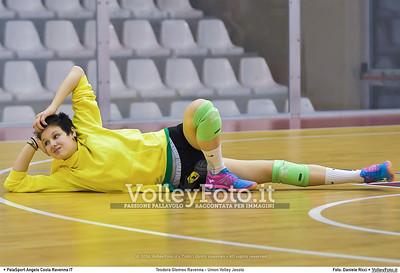 Teodora Glomex Ravenna - Union Volley Jesolo 17ª giornata Campionato Serie B2 Femminile 2015-16, girone D Palasport Angelo Costa Ravenna, 27.02.2016 FOTO: Daniele Ricci © Volleyfoto.it, all rights reserved [id:.DSC_3429]