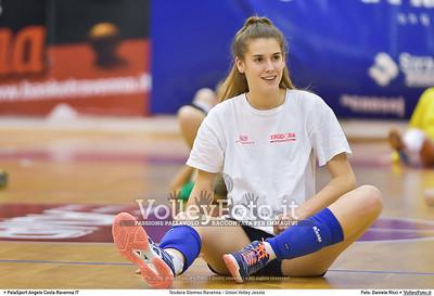 Teodora Glomex Ravenna - Union Volley Jesolo 17ª giornata Campionato Serie B2 Femminile 2015-16, girone D Palasport Angelo Costa Ravenna, 27.02.2016 FOTO: Daniele Ricci © Volleyfoto.it, all rights reserved [id:.DSC_3440]