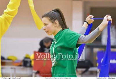 Teodora Glomex Ravenna - Union Volley Jesolo 17ª giornata Campionato Serie B2 Femminile 2015-16, girone D Palasport Angelo Costa Ravenna, 27.02.2016 FOTO: Daniele Ricci © Volleyfoto.it, all rights reserved [id:.DSC_3453]