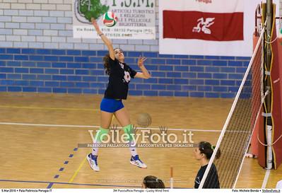 3M Pucciufficio Perugia - Lucky Wind Trevi 18ª giornata, campionato italiano di pallavolo femminile Serie B2 girone F.  Pala Paltriccia San Sisto Perugia, 05.03.2016 FOTO: Michele Benda © 2016 Volleyfoto.it, all rights reserved [id:20160305.MB2_2834]