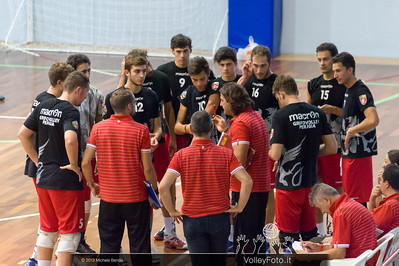 Grifo Volley Perugia time out