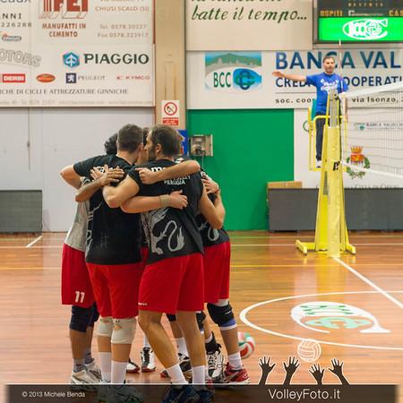 Grifo Volley Perugia, abbraccio