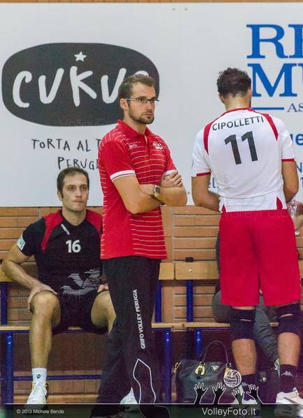 2013.10.19 Grifo Volley Perugia - Olio Monini Spoleto - 1ª giornata Campionato Italiano Volley Maschile B2 girone E - 2013/14 (id:_MBD2106)